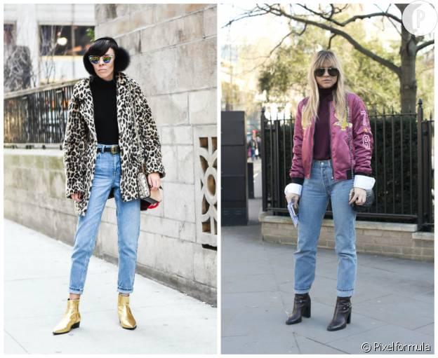Astuce pour porter son jean mom.