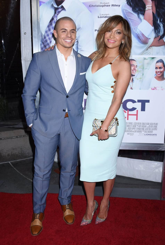 Jennifer Lopez, étourdissante dans une robe Cushnieet Ochs.