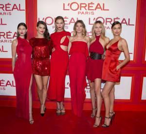 Karlie Kloss, Irina Shayk, Leïla Bekhti : la soirée Red Obsession L'Oréal Paris