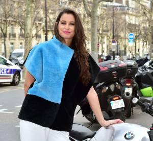 Malika Ménard, modeuse glamour chez Agnès b.