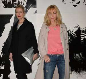 Karin Viard et Emmanuelle Béart, deux styles très différents.