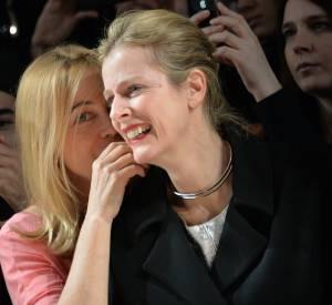 Emmanuelle Béart et Karin Viard, retrouvailles complices.