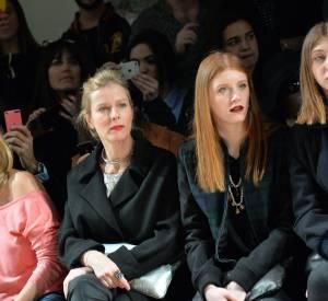 Karin Viard était venue accompagnée de ses filles, Simone et Margueritte.