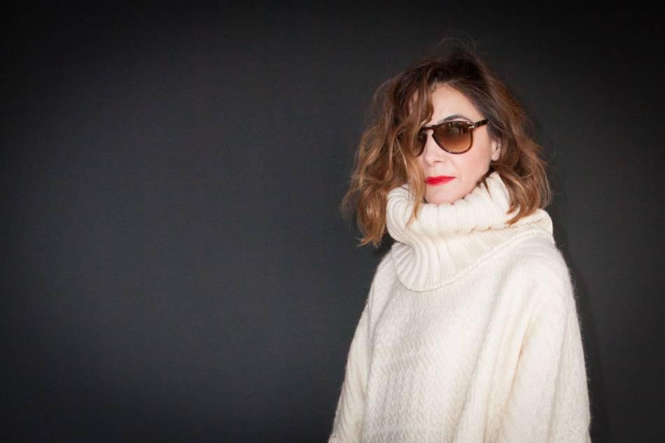 Clotilde Courau, canon au défilé Valentino automne-hiver 2016/2017.