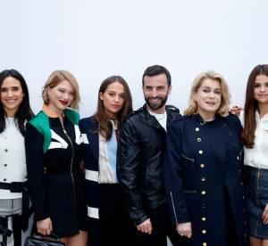 Léa Seydoux, Selena Gomez, Jaden Smith, front row 5 étoiles chez Louis Vuitton