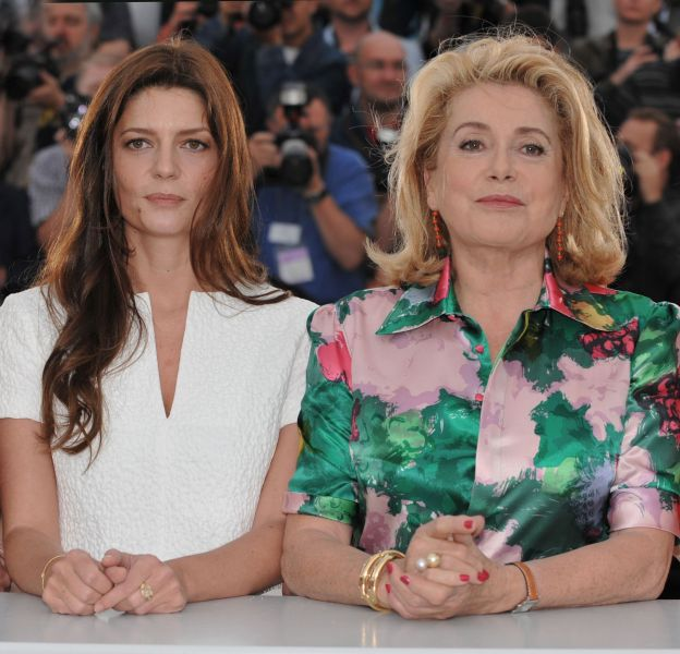 Chiara Mastroianni était très impressionnée par sa mère.