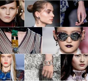 Automne-Hiver 2016/2017 : les plus beaux bijoux vus sur les podiums de Paris