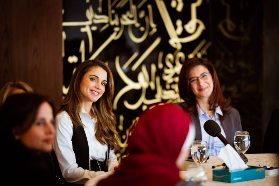 Rania de Jordanie a profité de la journée internationale des droits des femmes pour mettre le projecteur sur l'International Women's Forum.