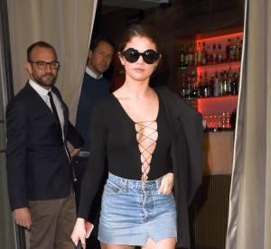 Selena Gomez, à deux doigts de montrer sa culotte pour terminer la Fashion Week