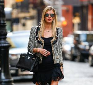 Nicky Hilton à Manhattan ce mercredi 9 mars 2016.