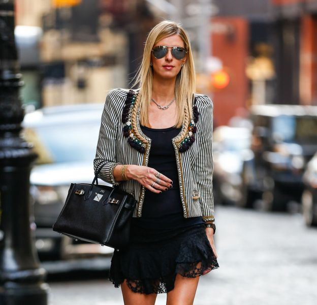 Nicky Hilton à Manhattan ce mercredi 9 mars 2016.