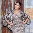 Nicki Minaj n'a pas peur de mixer les imprimés, quitte à faire too much.