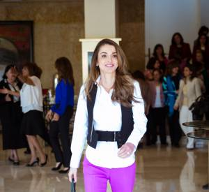Rania de Jordanie, drôle de dame royale.