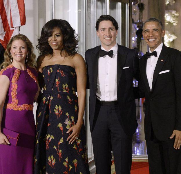 Les Trudeau et les Obama ont rivalisé de glamour jeudi 10 mars à la Maison Blanche.