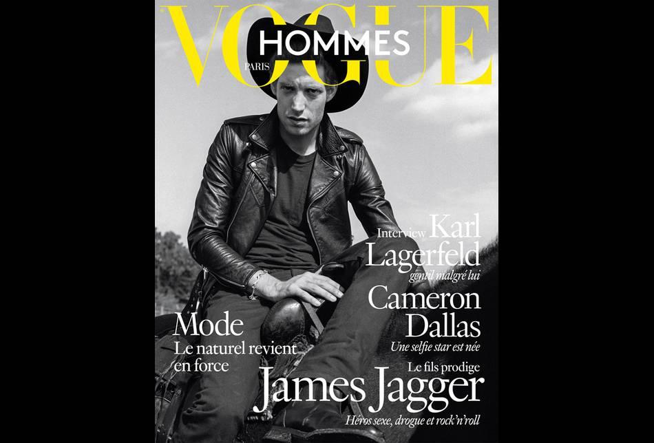 James Jagger pour  Vogue Hommes  par Bruce Weber pour le Printemps-Été 2016.