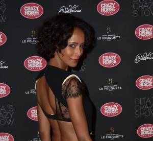 Sonia Rolland : dentelle et dos nu, l'ex-Miss est sexy chez Dita Von Teese