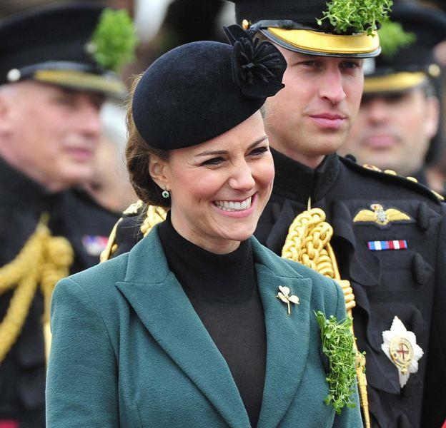 Cette année, Kate Middleton n'apparaîtra pas à la Saint-Patrick.