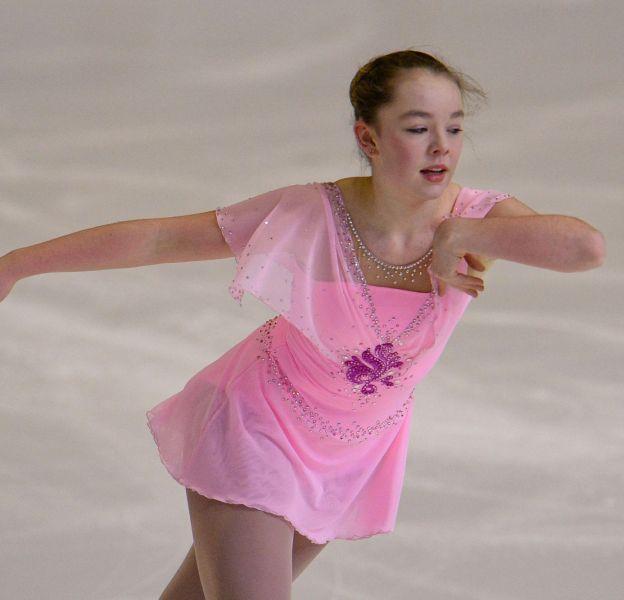 Alexandra de Hanovre est passionnée de patinage artistique.
