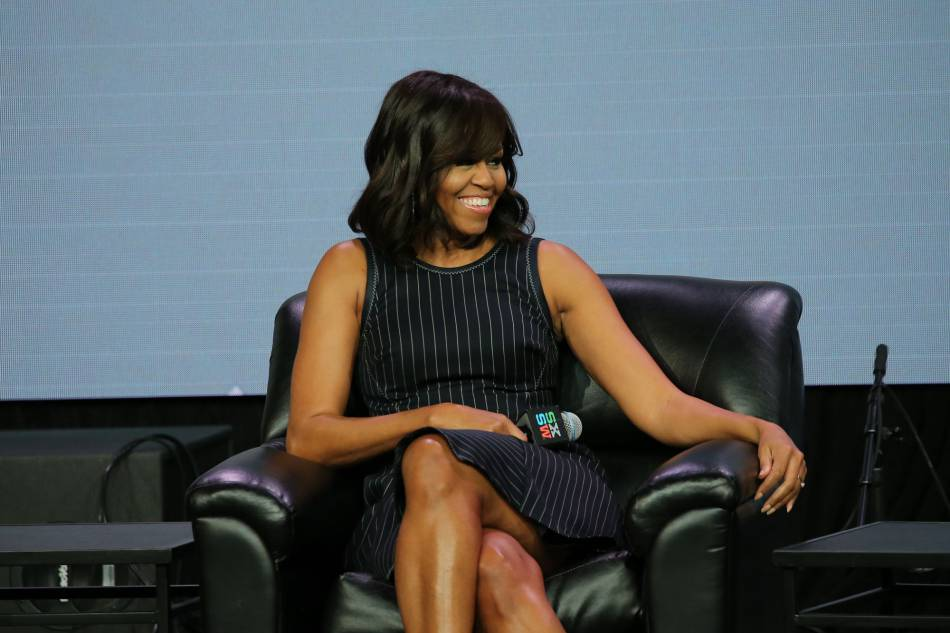 Michelle Obama ne souhaite pas continuer à surexposer ses filles, Malia et Sasha.