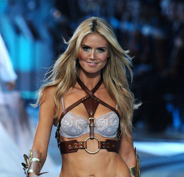 Heidi Klum se dit mal à l'aise en maillot de bain.