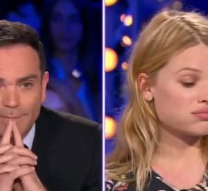 Sous ses airs angéliques, l'actrice n'hésite pas à sortir les griffes face aux questions insistantes de Yann Moix soutenu par Léa Salamé !