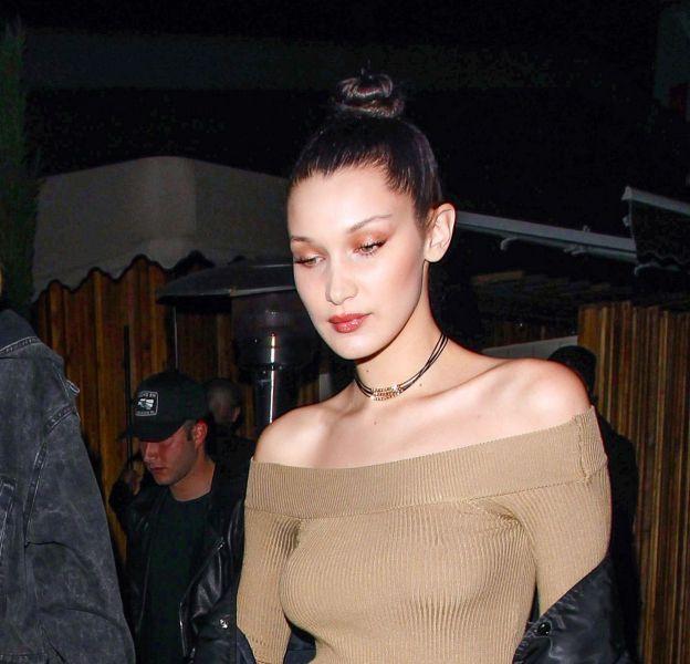 Gigi et Bella Hadid arrive au club The Nice Guy ce samedi 19 mars 2016 à West Hollywood.