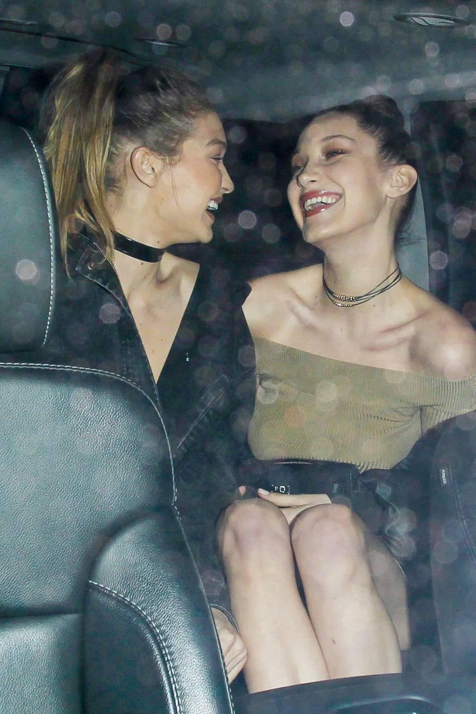 Gigi et Bella Hadid : les deux soeurs stylées font le show à LA.