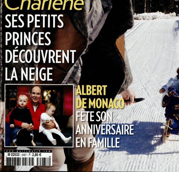 Charlène de Monaco au ski avec ces jumeaux.