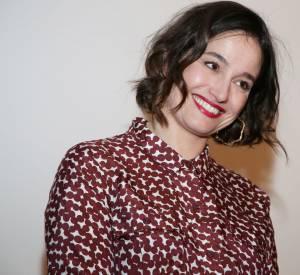 Marie Gillain : souriante et rayonnante pour la promotion de son nouveau film.