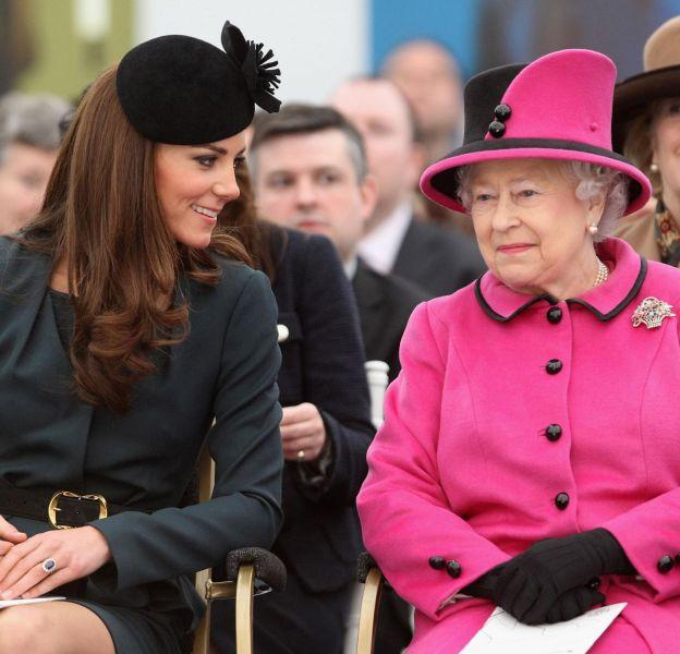 Kate Middleton et la reine, une relation qui se bonifie avec le temps.