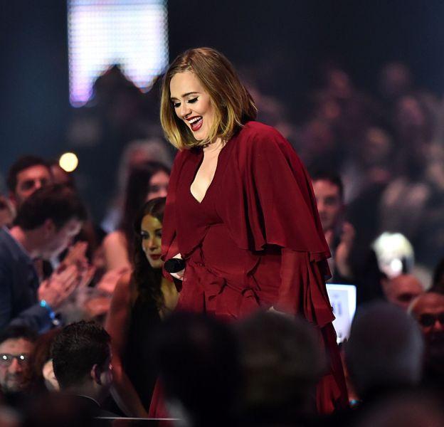 Adele sait faire rire son public.