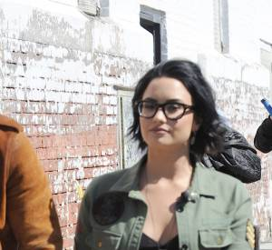 Demi Lovato accompagnée de son best friend, le chanteur Nick Jonas.