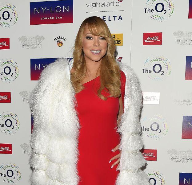 Mariah Carey à l'after-party de son concert au NY-LON lounge bar à Londres ce mercredi 23 mars 2016.