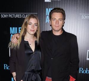 """Clara McGregor a volé la vedette à son père à l'avant-première de """"Miles""""."""