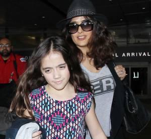 Salma Hayek : sosie de son papa, sa fille Valentina a beaucoup grandi