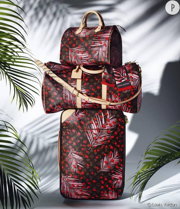 Les sacs Speedy, Keepall et Pégase en toile monogrammée de la collection Tropical Journey.