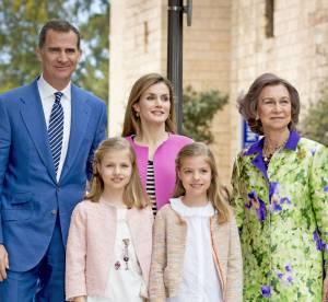 Letizia d'Espagne : une messe de Pâques en famille