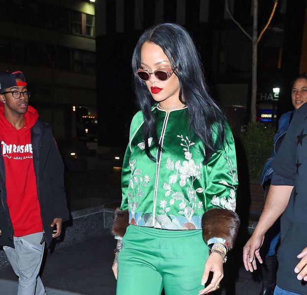 Rihanna à New York ce lundi 28 mars 2016.
