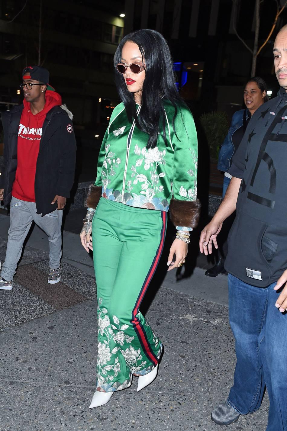 Rihanna, excentrique et canon à la fois.