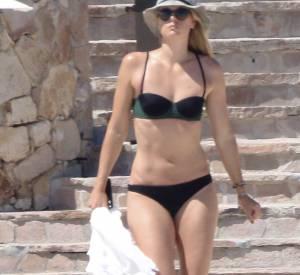 Maria Sharapova, une bombe à la plage, loin du scandale de dopage.