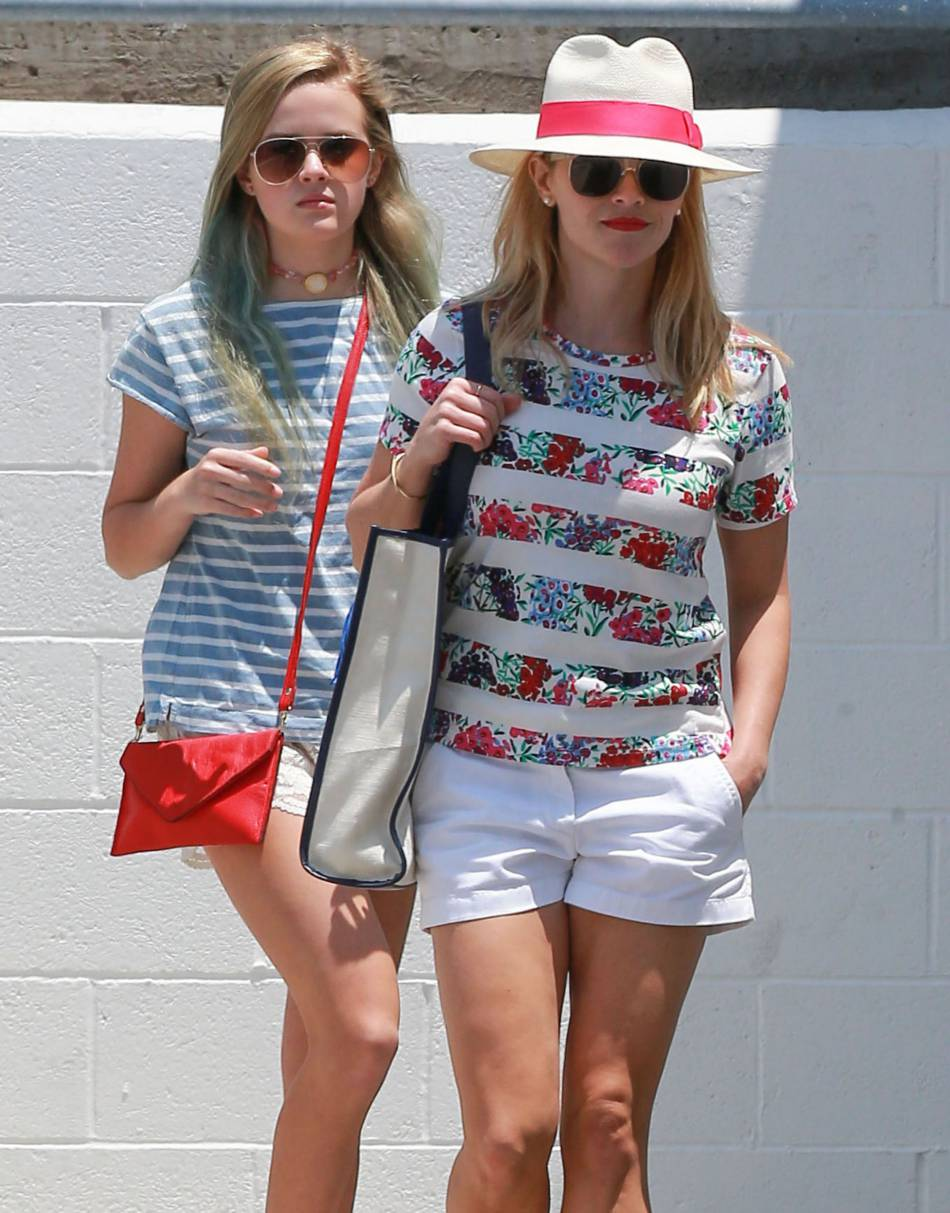 Ava Philippe et Reese Witherspoon, de véritables sosies.