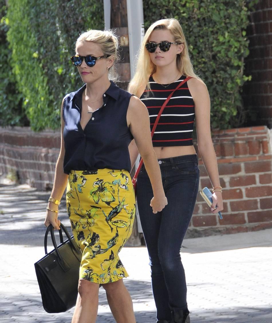 Reese Witherspoon et son mini moi Ava.
