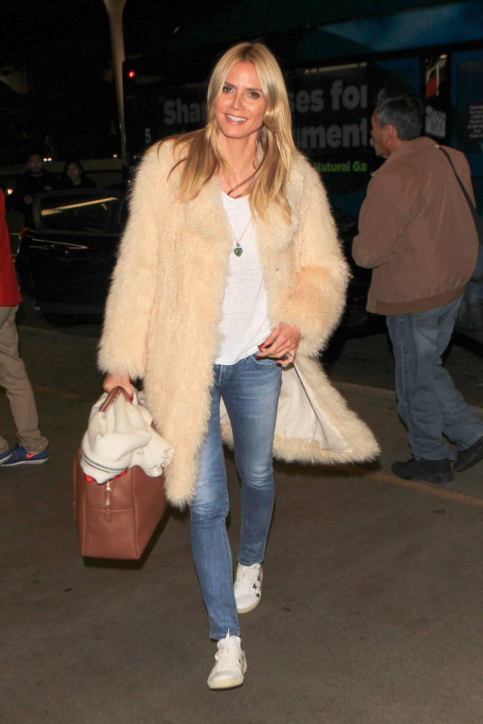 Heidi Klum, une quadra qui a gardé son sens du style.