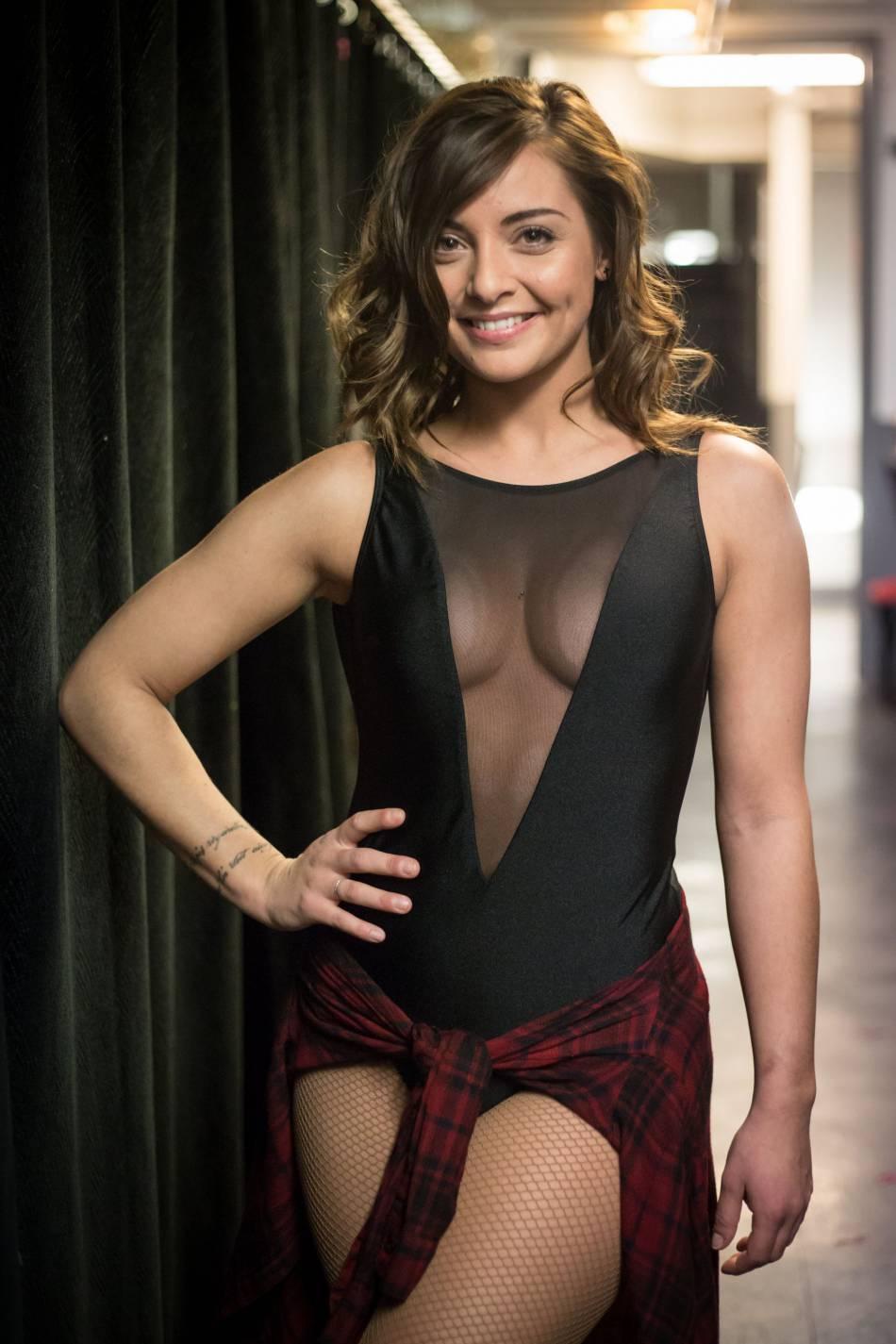"""Star de la comédie musicale """"Flashdance"""", Priscillia Betti se produira sur la scène du Lido pour le Sidaction."""