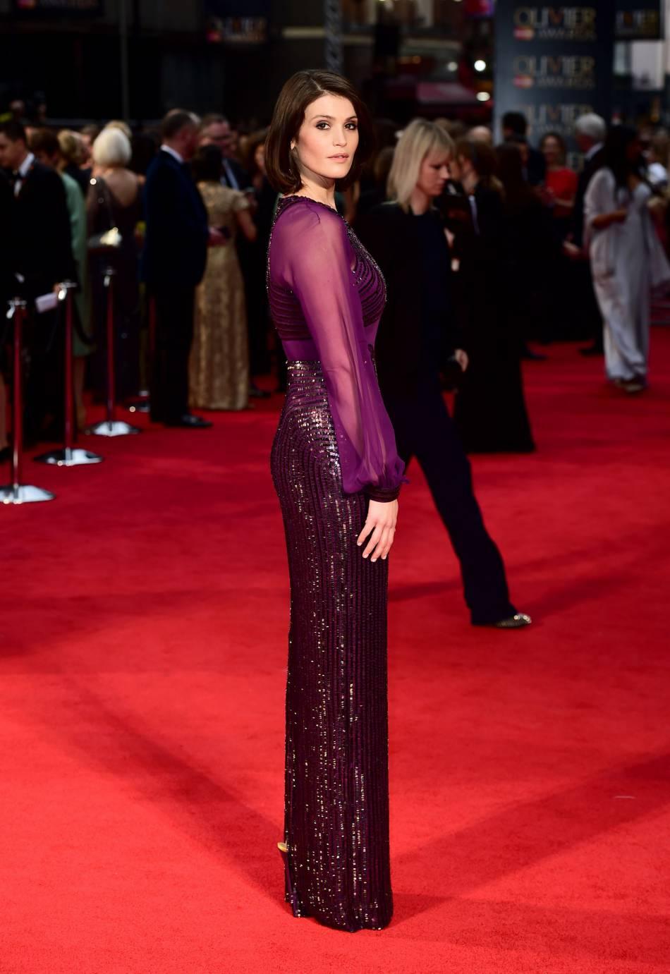 Gemma Arterton était incontestablement la plus belle femme de la soirée des Olivier Awards 2016.