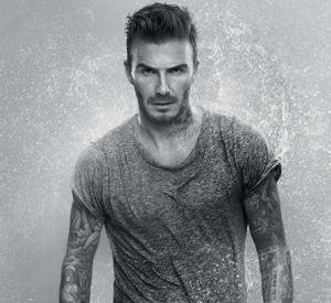 David Beckham, toujours aussi sexy, pour la campagne Biotherm.