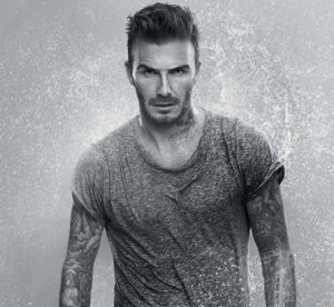 David Beckham dévoile l'histoire de ses tatouages pour Biotherm
