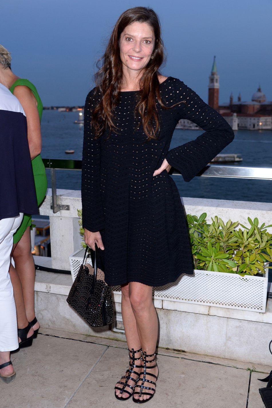 Chiara Mastroianni a fait de son arrivée à la Mostra de Venise un événement.