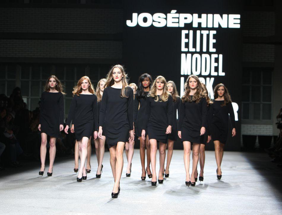 Joséphine Le Tutour a gagné le concours Elite Model Look en 2011.