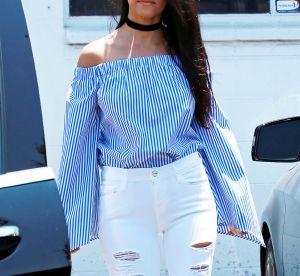 Kourtney Kardashian sexy en couverture de Cosmopolitan